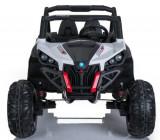 Masinuta electrica cu telecomanda Xtreme Jumper 4x4 UTV-MX White