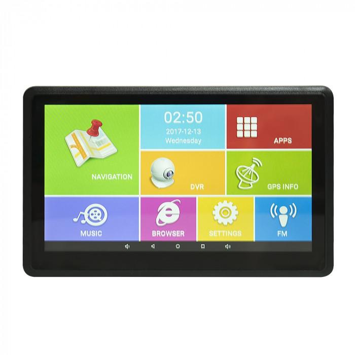 Resigilat : Sistem de navigatie GPS PNI D766 ecran 7 inch Android 6.0 cu Dvr Auto