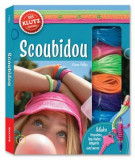 Scoubidou: A Book of Lanyard & Lacing [With 40 Yards of Cord, Key Rings, Lanyard Clips, Ruler and Big Beads, Small Beads, Toggle Beads], Paperback