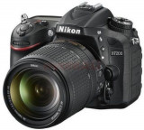 Aparat Foto D-SLR NIKON D7200, Kit 18-140mm VR, Filmare Full HD, 24.2MP, Wi-Fi (Negru)
