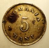 2.425 ROMANIA 5 BANI 1900, Cupru-Nichel