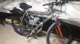 Bicicleta mountain bike 26 Inch Cu Kit Motor 80CC Full Accesorii, 28, 21