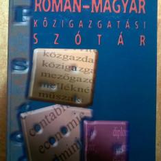 Dictionar administrativ roman-maghiar