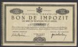 Bon Impozit 1000 lei 1933