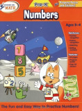 Hooked on Math: Numbers, Pre-K [With Progress Poster], Paperback