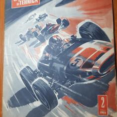 Revista sport si tehnica februarie 1965