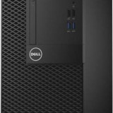 Sistem desktop Dell OptiPlex 3050 MT Intel Core i5-7500 8GB DDR4 1TB HDD Intel HD Graphics Linux Black
