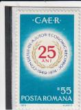 ROMANIA 1974 LP 854 A  25-a  ANIVERSARE C.A.E.R. MNH