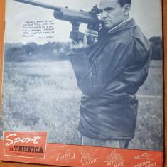 Revista sport si tehnica iulie 1963