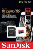 Card de memorie SanDisk Extreme Pro, 64GB, pana la 100 MB/s