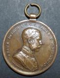 MS13 Der Tapferkeit Franz Joseph, Europa