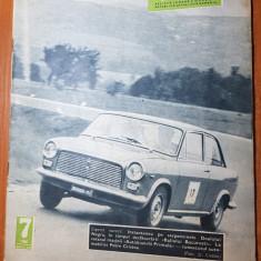 Revista sport si tehnica iulie 1966
