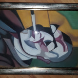 Pastel semnat Scheiber Hugo., Portrete, Impresionism