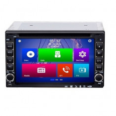 CD-DVD Player auto 2DIN Universal cu TouchScreen Telecomanda si Ecran LCD de 6.4
