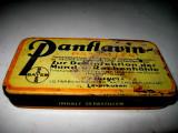 Cutie metalica veche pastile -Panflavin BAYERN Leverkusen.