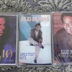 JULIO IGLESIAS , LOT 3 CASETE, Casete audio