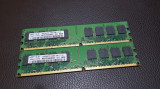 Kit 4GB DDR2 Desktop,2x2GB,Brand Samsung,800Mhz,PC2-6400,CL6, DDR 2, 4 GB, Dual channel
