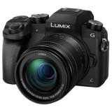 Resigilat: Panasonic Lumix DMC-G7M negru + obiectiv G Vario 12-60mm f/3.5-5.6 Power OIS RS125037333