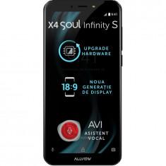 Telefon mobil X4 Soul Infinity S, Dual SIM, 16GB, 4G, Night Sky