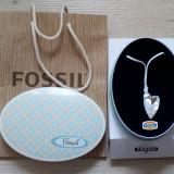 Colier Fossil sidef - livrare doar in Bucuresti