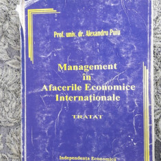 Management In Afacerile Economice Internationale Tratat -ALEXANDRU PUIU