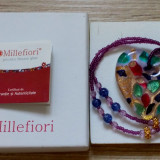 Colier Millefiori Murano - livrare doar in Bucuresti