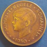 Moneda ALEGORICA ROMANIA MARE 20 LEI - ROMANIA, anul 1930  *cod 5100  - HORA!