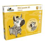 Mini Puzzle 3D - Zebra