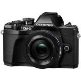 Resigilat: Olympus OM-D E-M10 Mark III black + EZ-M1442 IIR black RS125037657-3