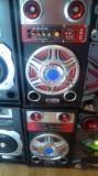Boxe audio active 2x70W, Boxe podea, 121-160W
