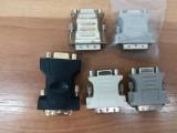 Mufa adaptor Convertor de la DVI la VGA DVI to VGA.