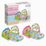 Loc de joaca pentru copii Baby Play Gym Multifuncțional Piano, Altele, Unisex, Multicolor