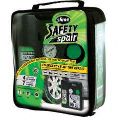 Kit Anti-Pana Slime 473ml + Compresor aer 12V pentru Pana Pori  AL-260517-3