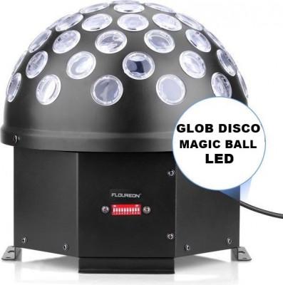 MEGA EFECT LUMINI DISCO,GLOB CU LEDURI MAGIC BALL,DMX 512 PT.DISCO,CLUB,DJ,ACASA foto