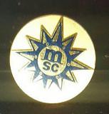 Insigna MSC Gold (pentru membrii club vas croaziera MSC)