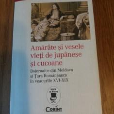 Amarate si vesele vieti de jupanese si cucoane de Constantin Gane, Corint