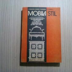 MOBILA STIL - Ivan Cismaru, Maria Cismaru, Radu Ghimpu - Tehnica, 1993, 419 p., Alta editura, Eugene Sue