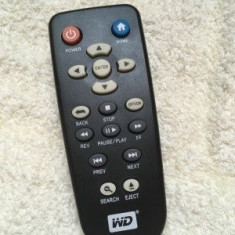 Telecomanda western digital media player