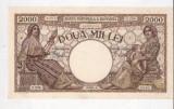 BANCNOTA  2000 LEI,  1 SEPTEMBRIE 1943