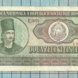 Bancnota 25 lei 1966 seria-E0075...868