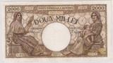 ROMANIA 2000 LEI 20 MARTIE 1945 F
