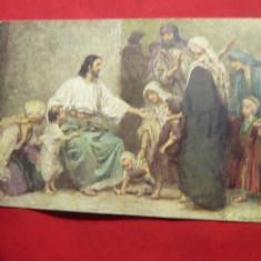Ilustrata - Istoria Sfanta- IIsus si copiii ,inc.sec.XX