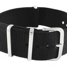 Curea ceas din material textil, 22mm, telescoape cadou