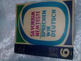 Carte si discuri vinil 1960,Sa vorbim Nemteste,Adrian Nicolescu,Exercitii lexica