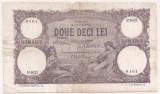 ROMANIA 20 LEI IULIE 1917 F
