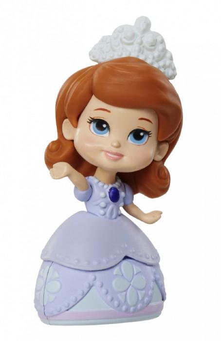 Păpuşă mini 3''- Sofia Întâi -Albastru