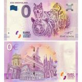 !!!  0 EURO SOUVENIR -  SLOVACIA , ZOO  BRATISLAVA  -  2018.1 - UNC
