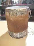 Toba africana din piele naturala