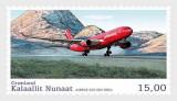 Groenlanda, 2016, avioane Airbus, MNH, Nestampilat