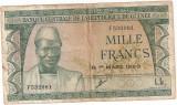 GUINEEA GUINEA 1000 FRANCS 1960 F
